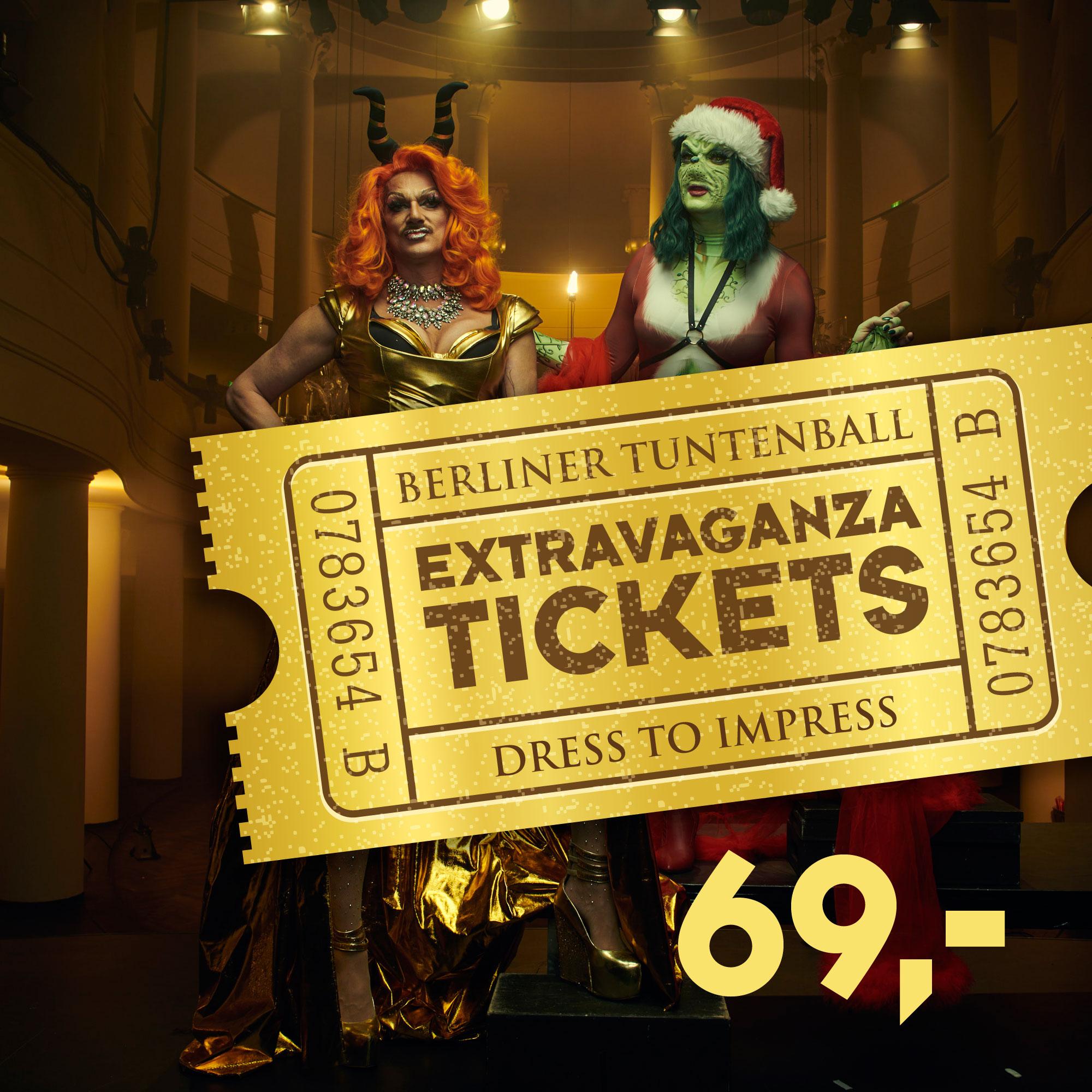 Extravaganza Tickets ONLINE